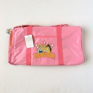 Disney Princess Pink Duffle Bag Cinderella Bell
